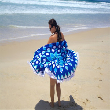 Newly Arrival for Roundie Beach Towel Stock Turkish Antimicrobial Microfiber Round Beach Towel export to St. Helena Factories