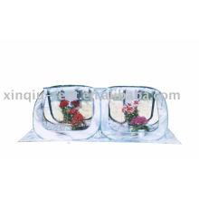 Прозрачный цветочный дом ПВХ