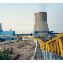 Ske Environmental Curved Belt Conveyor for Cement Plant with Ce ISO