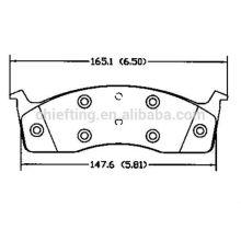 D591 101 889S for Chrysler bsangsin hi-q brake pad