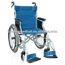 Easy Folding Aluminum Wheelchair with CE