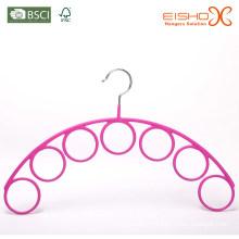 Eisho розовый винил металлический шарф вешалка