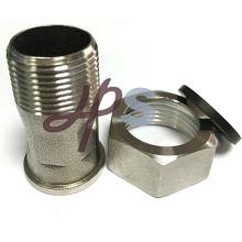 acoplamiento del medidor de agua de acero inoxidable