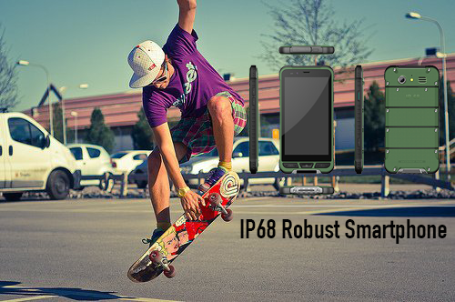 IP68 Robust Stylish Smartphone