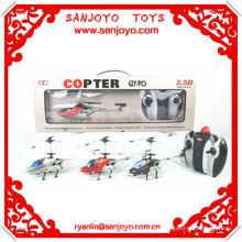 el helicóptero del rc parte el helicóptero del rc de la aleación de la parte del juguete del girocompás 3.5CH con LED