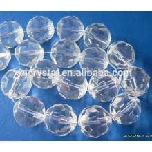 Contas esferas e contas de vidro redondo