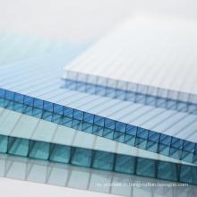 Toit en verre de feuille de Multiwall de feuille de polycarbonate