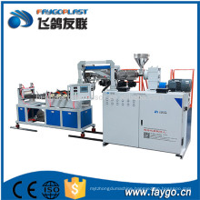 High speed high capacity polycarbonate corrugated roof roofing sheet making machine