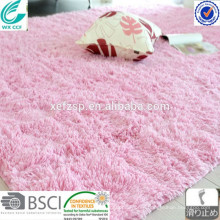 pink soft shaggy machine washable rug factory direct carpet red carpet foam backed carpet