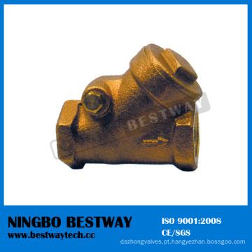 Fornecedor rápido do fabricante da válvula de verificação do bronze do filtro de Y (BW-C07)