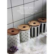 Spice Kitchen Storage Canister Ceramic Jars