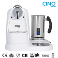 L/M Capsule Coffee Machine With Milk Frother
