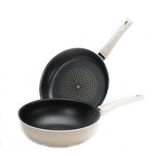 Korea Aluminum Press Cookware Edge Pan