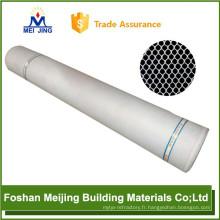 Foshan polyester maille tissu mosaïque retour fabricant