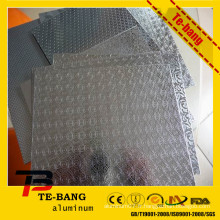 2014 Hot Selling embossed aluminum plate boats 5052 5083 Alliage