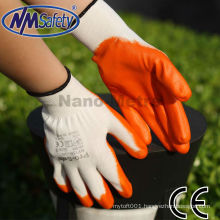 NMSAFETY very cheap nitrile luva de trabalho