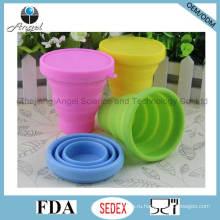Силиконовые чашки силиконовые кружки складные чашки кофе для путешествий 200 мл