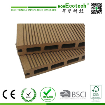 Holz Plastik Composite Decking Fliesen / Outdoor Decking (145H21B)