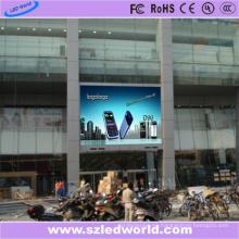 Tablero de la muestra de la pantalla LED a todo color montada en la pared P8 al aire libre