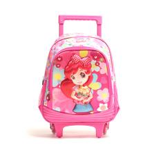 2020 Kids Trolley Bag School Bags With Stationery Cartoon Trolley Bag Set