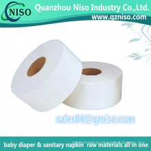Papel tisú para pañales para bebés y toallas sanitarias y pañales para adultos
