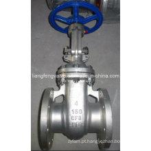 Válvula de porta CF8 com extremidade flangeada, RF