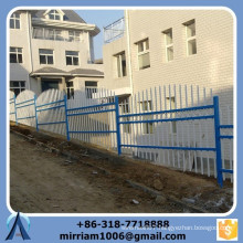 Factory direct customized high quality black stair step slope fence (Made in China)