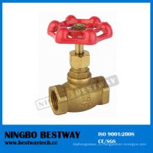Латунный запорный Кран клапан с минимальной ценой (БВ-С08)