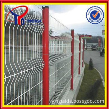PVC coated mental fence