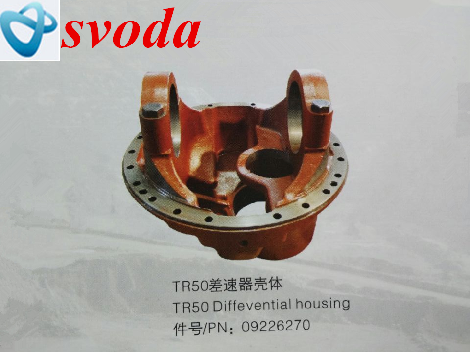 Terex tr50 Differential housing parts 09226270