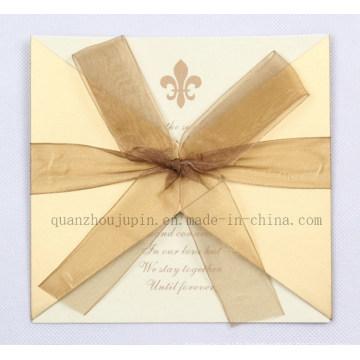 Nouveau produit OEM Greeting Gift Anniversaire de mariage Carte de vœux Fabricant