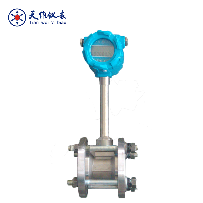 wafer flange vortex steam flow meter