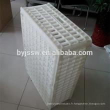 Cage en plastique de transport de volaille de caisse de poulet en plastique