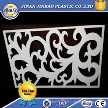 Affichage en plastique de feuille de 8x10 sculpté le panneau de PVC engavé