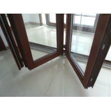Китай Алюминиевые складные двери
