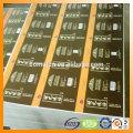 hojas de hojalata hojalata - servicio de impresión - para envases metálicos de la laca