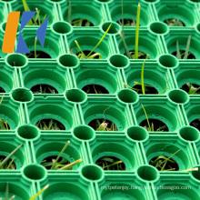 1000mm*1500mm Anti Skid Drainage Honeycomb Rubber Ring Grass Mats