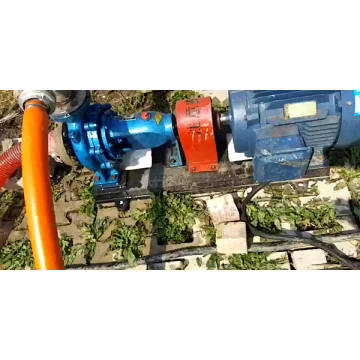 IS serie enstegs elektrisk 5hp vattenpump