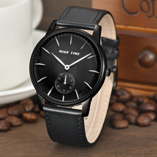 2017 Stainless Steel Leather Men Quartz Men Watches