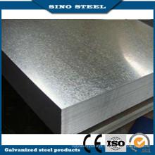 Chapa de aço 0,45 mm espessura SGCC revestida de zinco galvanizado