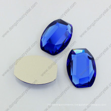 Flat Glass Faceted Stones Can Be Sew on Garment