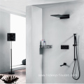 Wall Mounted Four Function Brass Shower Faucet