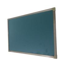 Mobiliário escolar Placa de giz para sala de aula Superfície de aço