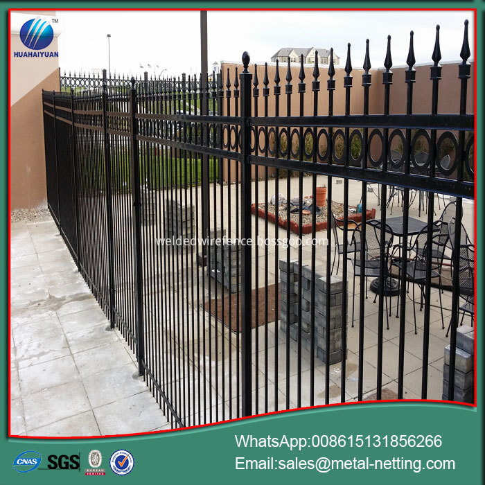 Iron Security Fence