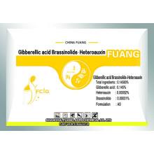 Biotecnologia altamente eficiente Pesticida Brassinolide & Gibberellin