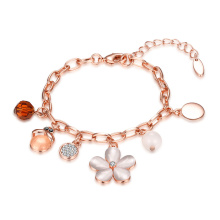 Hot sale Gold Bracelet Rose Gold Plated Women Bracelet