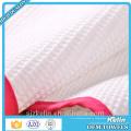 100% algodão branco bordado jacquard waffle rodada toalha de cozinha
