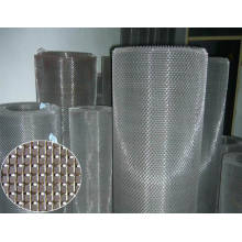 Filtre en acier inoxydable de 20 microns / treillis métallique