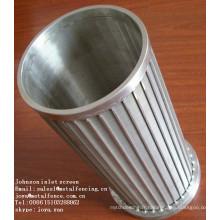 Cylindre de tamis de contrôle soudé de fil de cale