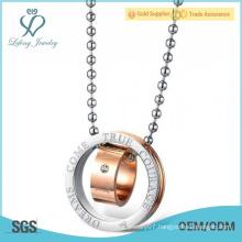 Elegant jewelry best sale stainless steel couples matching jewelry cute matching jewelry for couples
